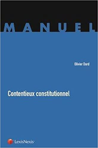 Livre Contentieux Constitutionnel (ancienne édition) epub pdf