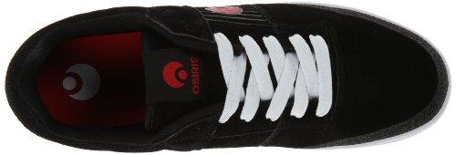 Skate Men's Red US Shoe Sleak M Osiris White Black 6 nXSP1wqx