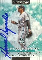 Hansel Izquierdo Florida Marlins 2002 Donruss The Rookies Autographed Card. This item comes with a certificate of authenticity from Autograph-Sports. Autographed