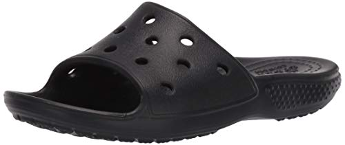 Crocs Kids' Classic Slide Sandals   Slip On Water Shoes for Boys and Girls