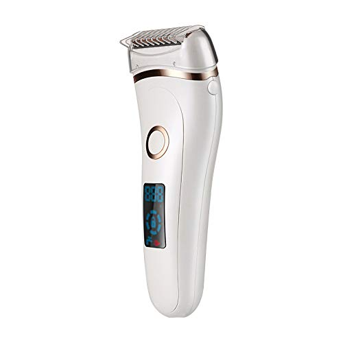 Electric Painless Razor for Women Rechargeable Ladies Hair Shaver for Shaving Legs Underarms Armpit and Bikini Area Best Rated Wet and Dry Hair Removal Trimmer Teens Girls Personal Groomer