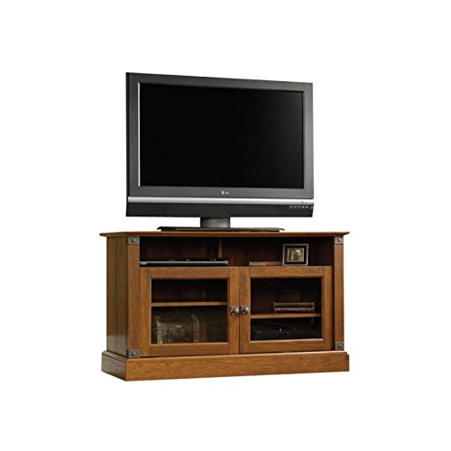 Sauder Carson Forge Panel Tv Stand, For TV's up to 47'', Washington Cherry finish by Sauder