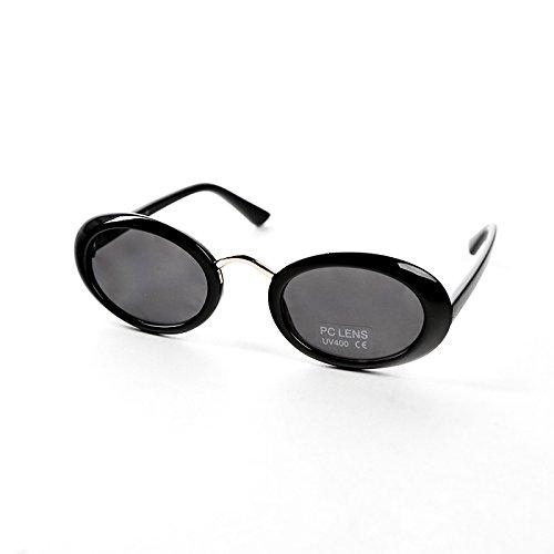 De Personalidad De Gules Xue Moda Sol De Ronda schwarz Gafas Sol De Gafas De zhenghao La 6qqxwS7E8