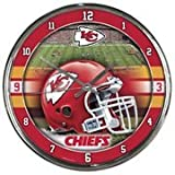 Kansas City Chiefs WinCraft Chrome Clock