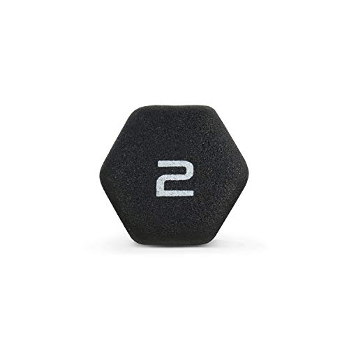 CAP Barbell Neoprene Coated Single Dumbbell, Black, 2-Pound by CAP Barbell (Image #6)