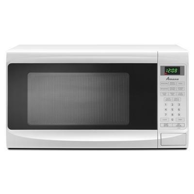 Amana 0.7 cu. ft. Countertop Microwave, AMC1070XW, White