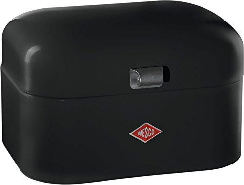 10 opinioni per Wesco, Single Grandy- Contenitore per il pane, colore: Nero