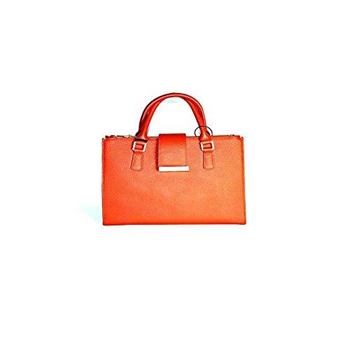 Mia Bag Borsa in Pelle Donna MOD.14666L Rosso Salida Recomienda M64rvz20bx