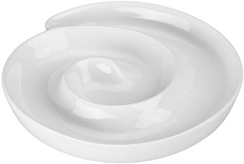 Olive Swirls - BIA CORDON BLUE Dish Swirl 8 Oz White, 1 Each