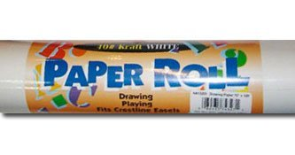 Art Alternatives Childrens Easel Paper Roll 15 Inches X 100 Feet
