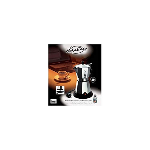 Bialetti Cafetera MokaEasy 3TZ eléctrica: Amazon.es: Hogar