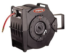 Legacy Levelwind Retractable Air Hose Reel, 3/8 in. x 100...