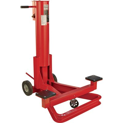 Strongway Air Bumper Jack - 1 1/4-Ton, 11in.-42 1/2in. Lift Range (Bumper Jack)