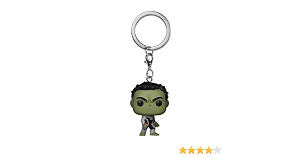 Funko- Pocket Pop Keychain: Avengers Endgame: Hulk Marvel Collectible Figure, Multicolor, Talla única (36677)