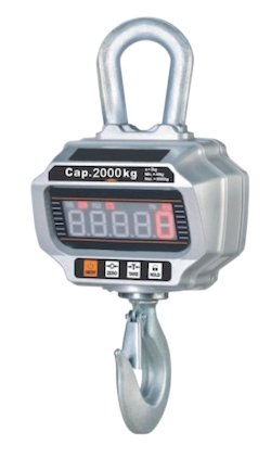 Dinamómetro digital kg. 2000