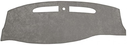 Pontiac Grand Am Dash Cover Mat Pad - Fits 1999 - 2005 (Custom Suede, Gray)