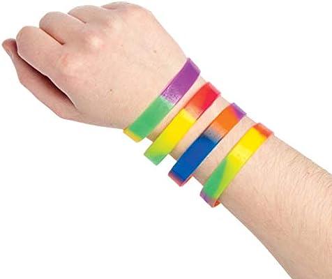 Pulseras multicolor, ideales para bolsas sorpresa para que los ...