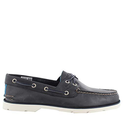 - Sperry Top-Sider Leeward Nautical Cross Lace Boat Shoe Men 12 Navy