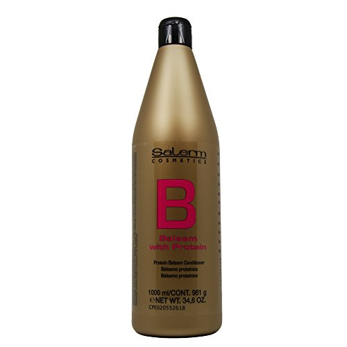 Conditioner Hair Balsam (Salerm Protein Balsam Conditioner 34.6 oz (1 Liter))