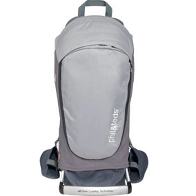 Phil & Teds Escape Backpack Carrier In Charcoal