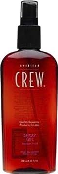 American Crew Medium Hold Spray Gel, 8.45-Ounce Bottles Pack of 2
