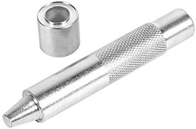 LAQI Silberfarbene Ösen-Hand-Setter Locher Werkzeug Ösenlocher Werkzeug Stanzwerkzeug Stanzwerkzeug Stanzwerkzeug Stanzwerkzeug Stanzwerkzeug für Handwerk Kleidung Stoff Vorhang, 1000# 12mm