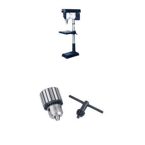 """JET 354170/JDP-20MF 20-Inch Floor Drill Press with TDC-625, Taper Mount Drill Chuck 1/8""""-5/8"""" x JT-3"""
