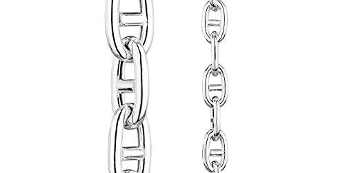 Clio Blue Bracelet chaîne maille marine en argent 925, 17.9g