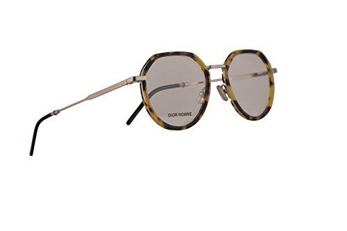 Christian Dior Homme Dior0228 Eyeglasses 50-19-150 Light Havana Gold w/Demo Clear Lens VR0 0228