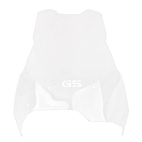 GZYF Transparent Motorcycle Windshield Screen for BMW F650 F700 F800 GS 2008-2016