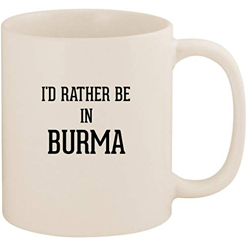 MA - 11oz Ceramic White Coffee Mug Cup, White (Burma Shave Mug)