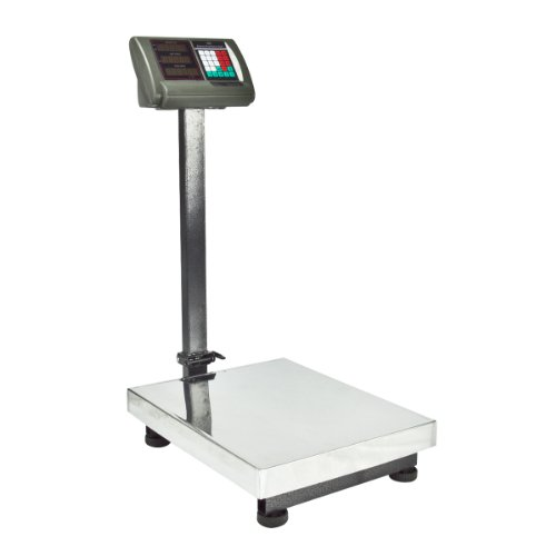 600 LB Pounds Platform Bench Shipping Weight Computing Counting Scales (Black) by APONTUS