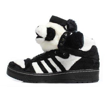 Jeremy Scott Panda Bear Men's Shoe ()