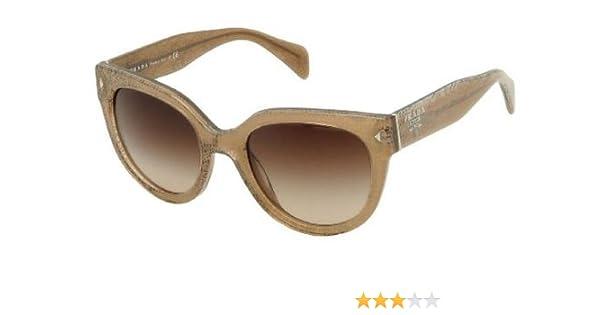 2cfc732cdd71 Amazon.com: Prada PR17OS Sunglasses-JAW/6S1 Lace Sand (Brown Gradient  Lens)-54mm: Prada: Sports & Outdoors