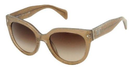 1347ad931482 Prada Sunglasses SPR 17O BROWN JAW-6S1 SPR17O  Amazon.co.uk  Clothing