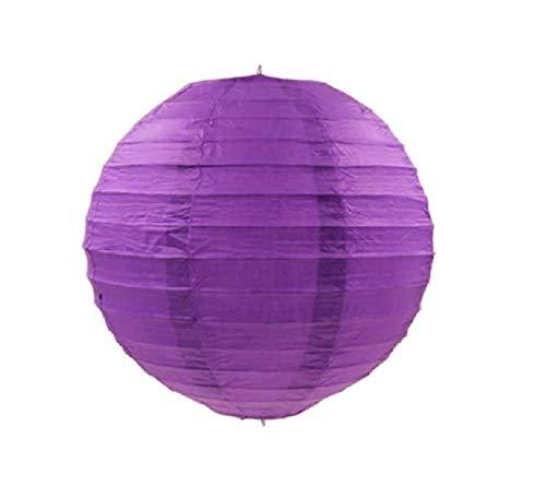 Kala Decorators Paper Lantern  41 x 41 cm, Purple