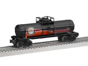 Lionel 684762 Southern Pacific Daylight Tank Car, O Gauge, Black, Orange, Red, White