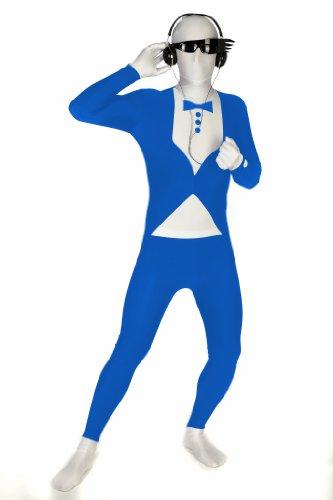 Morphsuits Premium Blue Tux  L, Blue / White, Large]()