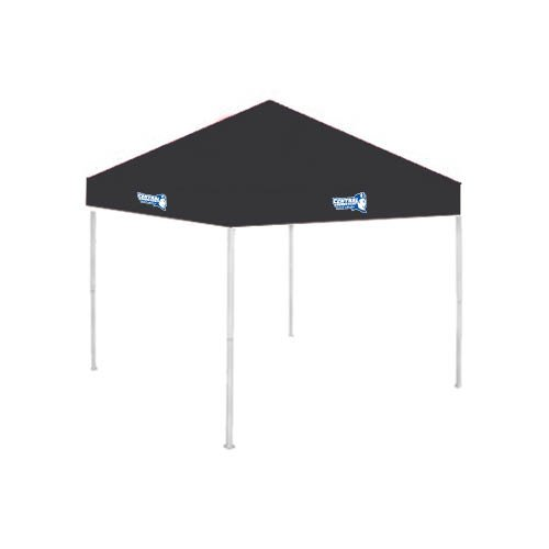 Central Connecticut State 9 ft x 9 ft Black Tent 'Official Logo' by CollegeFanGear