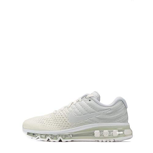official photos 97a07 74400 Nike Womens Air Max 2017 Low Top Lace Up Running, Phantom Off White,