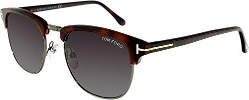 Sunglasses Tom Ford Henry Tf 248 Ft0248 52a Dark Havana / Smoke