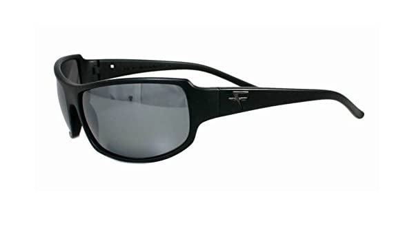 88d23183a2 Amazon.com  Fatheadz Eyewear Men s Superhero V2.0 Polarized Wrap Sunglasses  Black 40 mm  Clothing