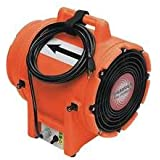 Euramco Safety 8 Portable Ventilation Fan, 1/3 Hp, 980 Cfm