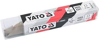 29,5/MM HSS Reibahle Yato Professionelles Hand yt-28963/ /verstellbar 26