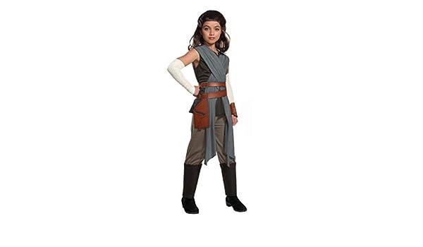 Horror-Shop Star Wars Rey Disfraces para niños Deluxe M: Amazon.es ...