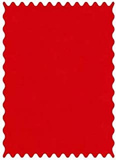 product image for SheetWorld 100% Cotton Flannel Fabric by The Yard, Flannel FS8 - Red, 36 x 44