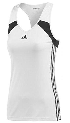 Adidas Response Womens Tank (Adidas WOMEN RESPONSE TANK - White/Black (Small))