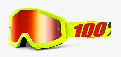 100% Strata Mx Goggle Mercury - Mirror - Goggles Mercury