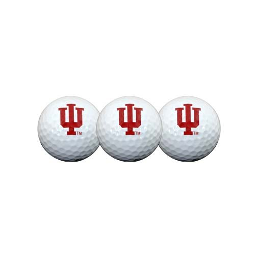 Indiana Hoosiers Golf Ball Pack of 3