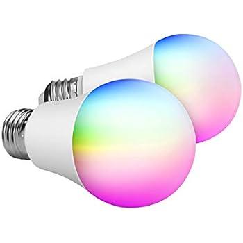 Dusk To Dawn A19 Led Light Bulb Automatic On Off Built